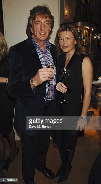 Nick Cook and Eimear Montgomerie attend the Asprey 225th anniversary party at Asprey on December 7 2006 in London England