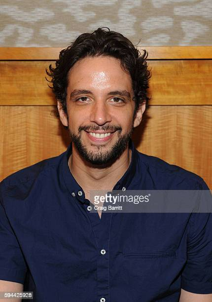 Nick Cordero attends a live performance from the cast of Broadway's Waitress at Barnes Noble 86th Lexington on August 23 2016 in New York City