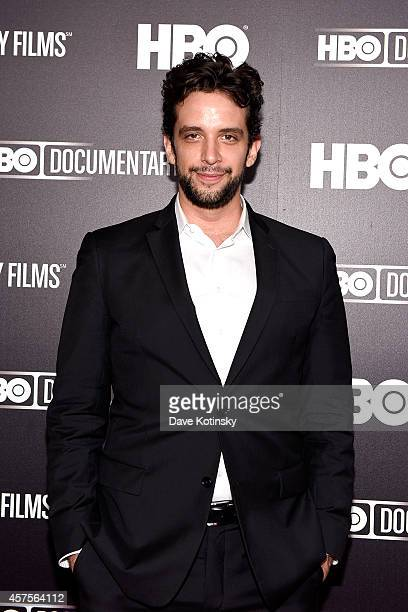 Nick Cordero attends HBO's premiere of Mr Dynamite The Rise of James Brown at Time Warner Center on October 20 2014 in New York City