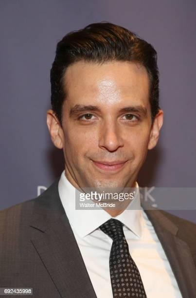 Nick Cordero attends the 2017 Drama Desk Awards at Town Hall on June 4 2017 in New York City