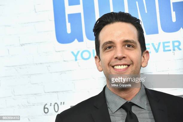 Nick Cordero attends the Going In Style New York Premiere at SVA Theatre on March 30 2017 in New York City