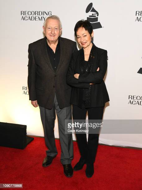 Nick Costa and Lynn Ahrens attend 61st GRAMMY Nominee Celebration at SECOND on January 28 2019 in New York City