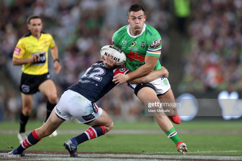 2019 NRL Grand Final - Raiders v Roosters : News Photo