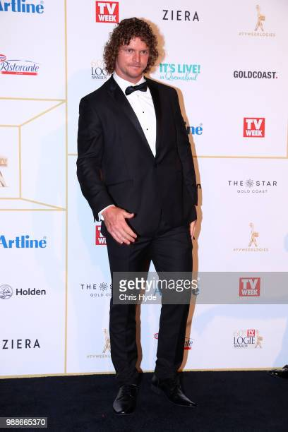 Nick Cummins arrives at the 60th Annual Logie Awards at The Star Gold Coast on July 1 2018 in Gold Coast Australia