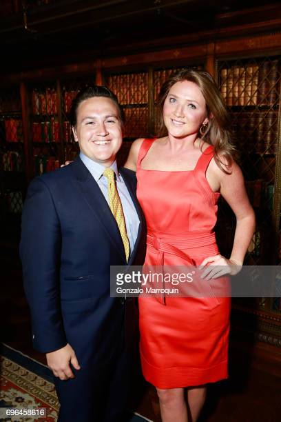Nick Domino and Lauren Vogel attend the Morgan Young Fellows Summer Soiree at The Morgan Library Museum on June 15 2017 in New York City