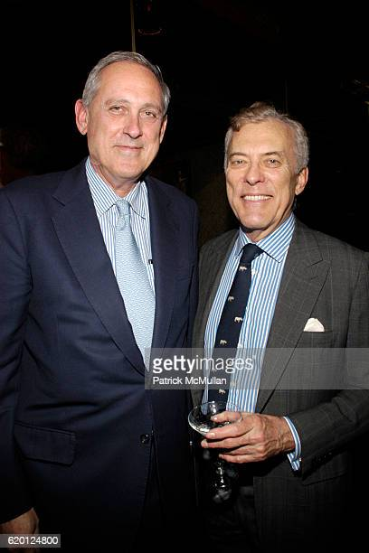 Nick Drexel and Bartle Bull attend The Society of Memorial Sloan Kettering Cancer Centers Event to Celebrate the Park Avenue Potluck Cookbook at...