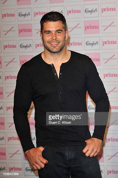 Nick Easter attends the Comfort Prima High Street Fashion Awards 2010 at Battersea Evolution on September 9 2010 in London England
