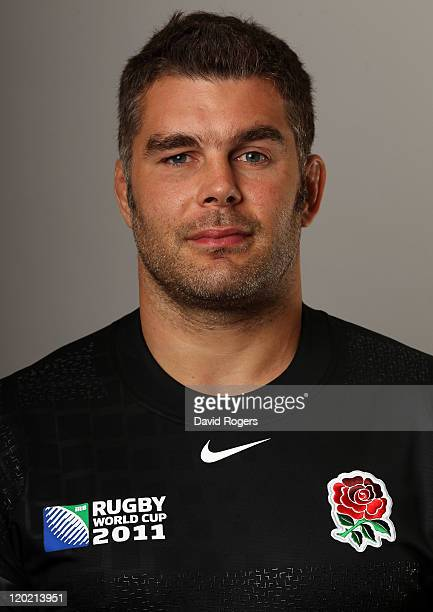 Nick Easter of England poses for a portrait at Pennyhill Park on June 21 2011 in Bagshot England
