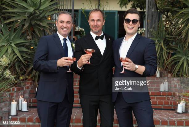 Nick Ede Absolut Elyx CEO Jonas Tahlin and Andrew Naylor celebrate the wedding of Nick Ede and Andrew Naylor in Los Angeles at the private residence...
