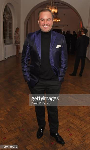 Nick Ede attends The Floral Ball 2018 in aid of The Sheba Medical Centre at One Marylebone on November 5 2018 in London England