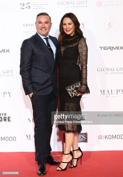 Nick Ede attends the Global Gift Gala 2018 presentation at the ThyssenBornemisza Museum on March 22 2018 in Madrid Spain