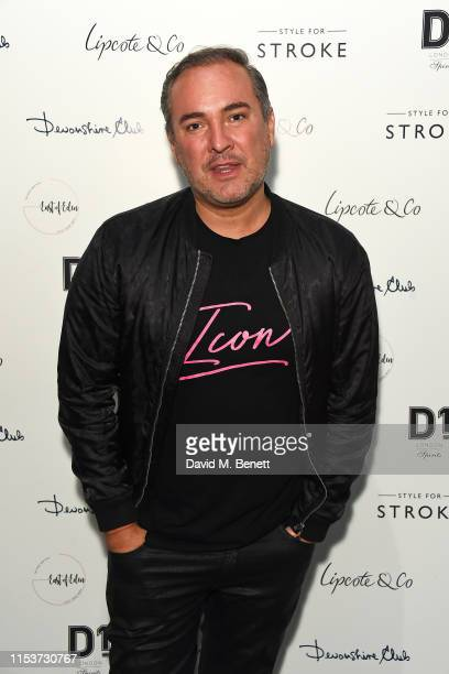 Nick Ede attends the launch of the new Style For Stroke collection at Devonshire Club on June 04 2019 in London England