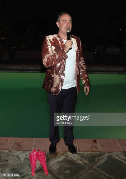 Nick Ede celebrates his wedding with Andrew Naylor in Los Angeles at the private residence of Jonas Tahlin CEO of Absolut Elyx on October 14 2017 in...