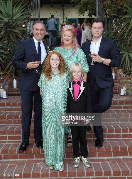 Nick Ede Global Director of Trade Marketing at Absolut Elyx Miranda Dickson and Andrew Naylor celebrate the wedding of Nick Ede and Andrew Naylor in...