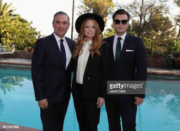 Nick Ede Patsy Palmer and Andrew Naylor celebrate the wedding of Nick Ede and Andrew Naylor in Los Angeles at the private residence of Jonas Tahlin...