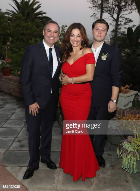 Nick Ede Tonia Buxton and Andrew Naylor celebrate the wedding of Nick Ede and Andrew Naylor in Los Angeles at the private residence of Jonas Tahlin...