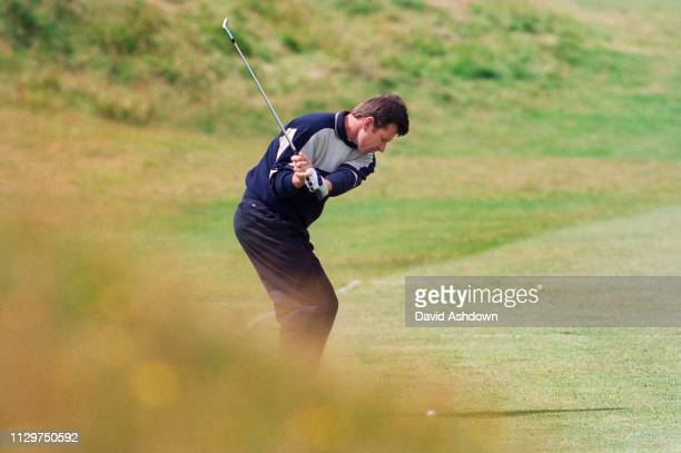 Nick Faldo during the 127th British Open Golf at Royal Birkdale GC in Southport 16th-19th July 1998.