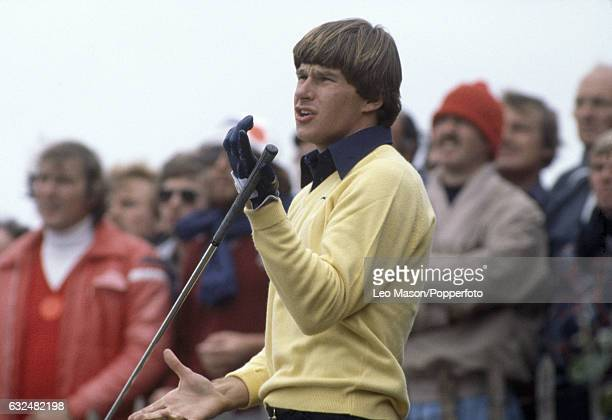 Nick Faldo of Great Britain in action during the British Open Championship at Royal Lytham and St Annes Golf Club circa July 1979