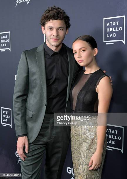 Nick Fink and Alexis G Zall attend the 'Guilty Party History of Lying' Season 2 premiere at ArcLight Cinemas on October 2 2018 in Hollywood California