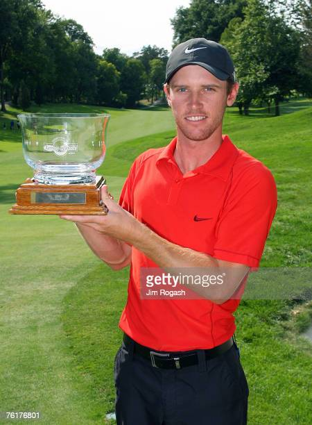Nick Flanagan wins the final round of the Xerox Classic held at Irondequoit Country Club in Rochester, New York on August 19, 2007.