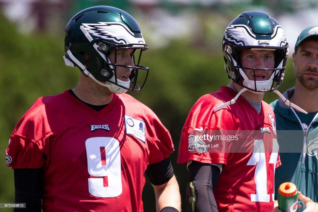 Philadelphia Eagles Minicamp : News Photo