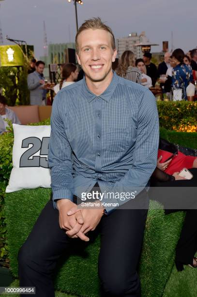 Nick Foles attends DIRECTV CELEBRATES 25th Season of NFL SUNDAY TICKET at Nomad Hotel Los Angeles on July 17, 2018 in Los Angeles, California.