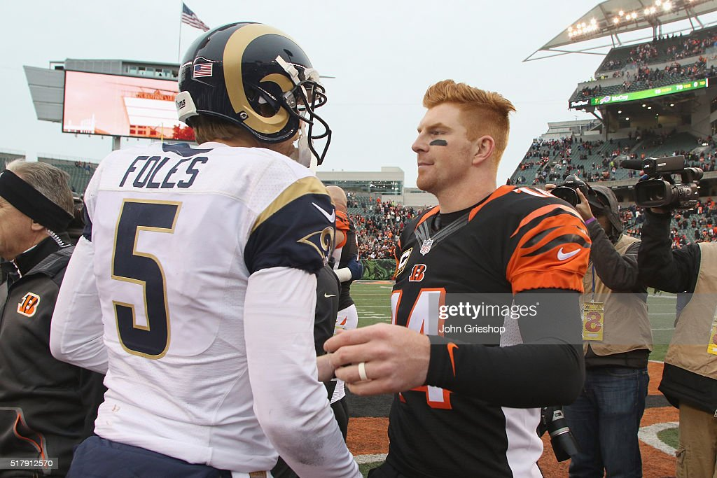 St Louis Rams v Cincinnati Bengals : News Photo