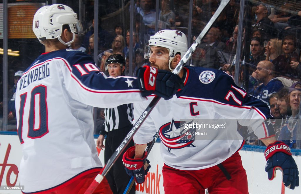 Columbus Blue Jackets v Toronto Maple Leafs