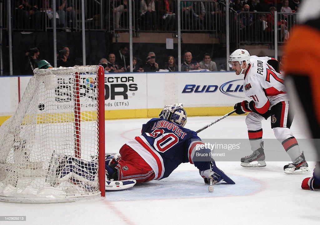 Ottawa Senators v New York Rangers - Game Two
