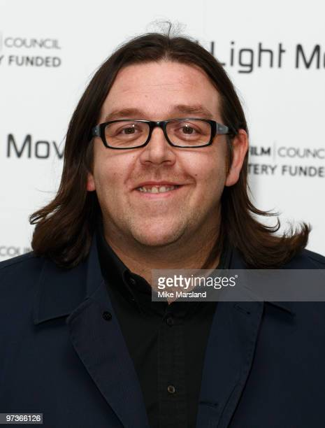 Nick Frost attends the First Light Movie Awards at Odeon Leicester Square on March 2 2010 in London England