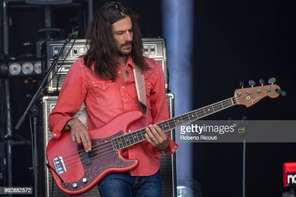 Nick Fyffe of The Temperance Movement performs on stage during TRNSMT Festival Day 4 at Glasgow Green on July 6 2018 in Glasgow Scotland