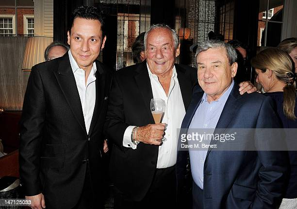 Nick Gold Johnny Gold and Sol Kerzner attend as Richard Caring and Sir Philip Green host Johnny Gold's 80th Birthday at 34 Grosvenor Square on June...