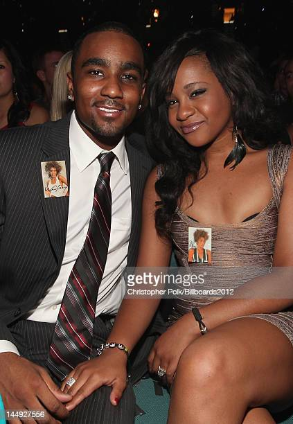 Nick Gordon and Bobbi Kristina Brown attend the 2012 Billboard Music Awards held at the MGM Grand Garden Arena on May 20 2012 in Las Vegas Nevada