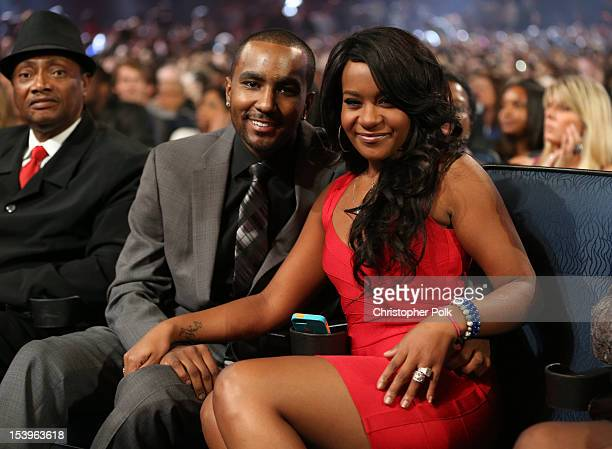 Nick Gordon and Bobbi Kristina Brown attend 'We Will Always Love You A GRAMMY Salute to Whitney Houston' at Nokia Theatre LA Live on October 11 2012...