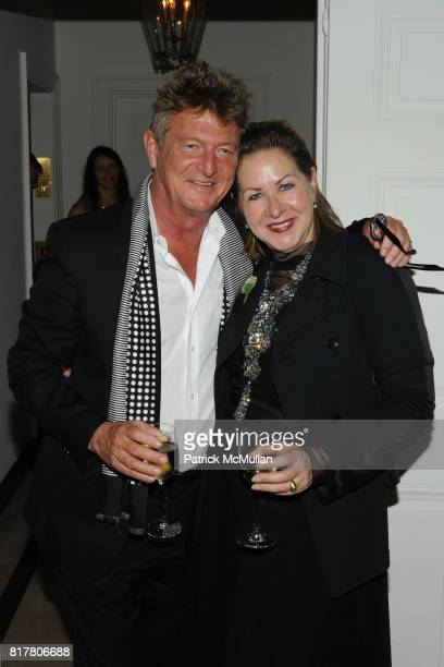 5c537eaef Nick Graham and Vicki Beaman attend CFDA 2010 New Members Party hosted by VERA  WANG at