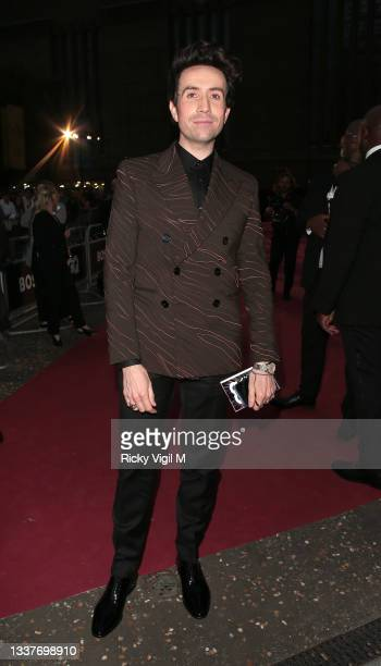 Nick Gramshaw seen attending the GQ Men Of The Year Awards 2021 at the Tate Modern on September 01, 2021 in London, England.