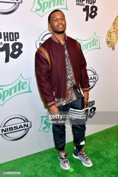 Nick Grant arrives at the BET Hip Hop Awards 2018 at Fillmore Miami Beach on October 6 2018 in Miami Beach Florida