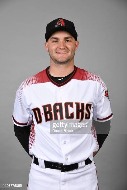 Nick Green of the Arizona Diamondbacks poses during Photo Day on Wednesday February 20 2019 at Salt River Fields at Talking Stick in Scottsdale...