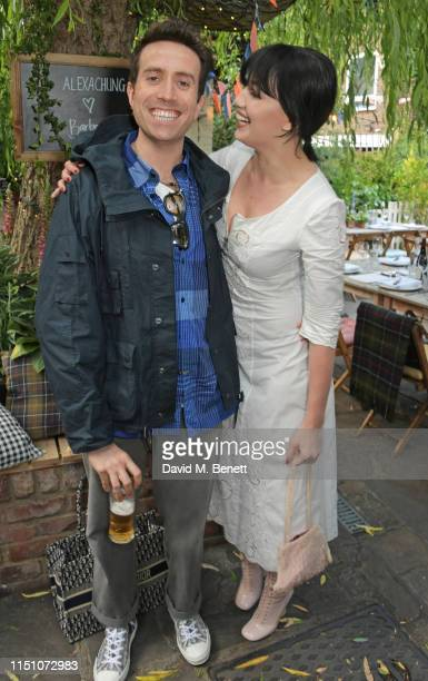 Nick Grimshaw and Daisy Lowe attend the VIP London launch of the Barbour by ALEXACHUNG collection at The Albion on June 20 2019 in London England