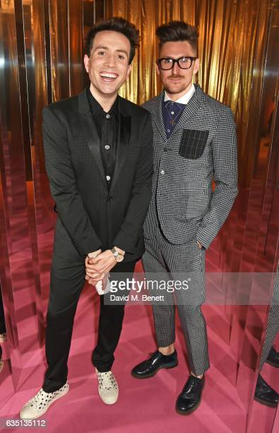 Nick Grimshaw and Henry Holland attend the Elle Style Awards 2017 on February 13 2017 in London England