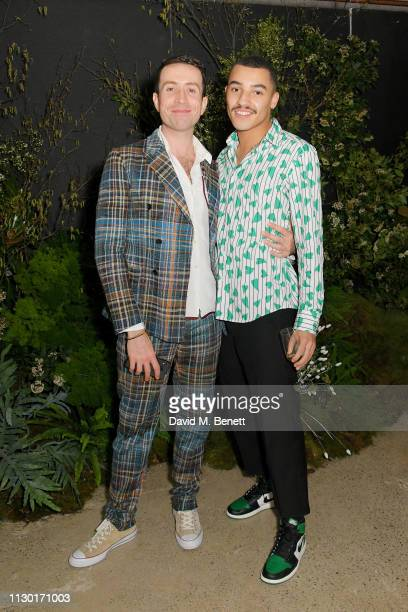 Nick Grimshaw and Meshach Henry attend a private dinner to celebrate the launch of the new ALEXACHUNG x Sunglass Hut eyewear collection at Wild by...