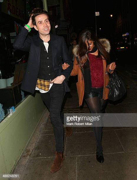 Nick Grimshaw at the Groucho club on December 11 2013 in London England