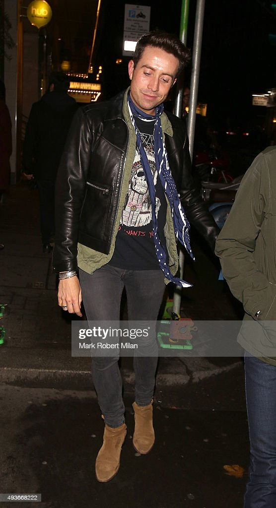 Nick Grimshaw attending the 'Storm In A C Cup' By Caroline Flack Book Launch Party on October 21, 2015 in London, England.