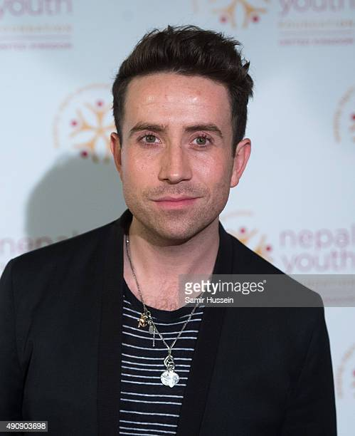 Nick Grimshaw attends a fundraising event in aid of the Nepal Youth Foundation at Banqueting House on October 1 2015 in London England