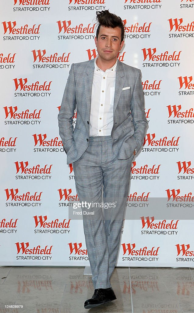 Nick Grimshaw attends a photocall for the grand opening of Westfield Stratford City shopping centre at Westfield Stratford City on September 13, 2011 in London, England.