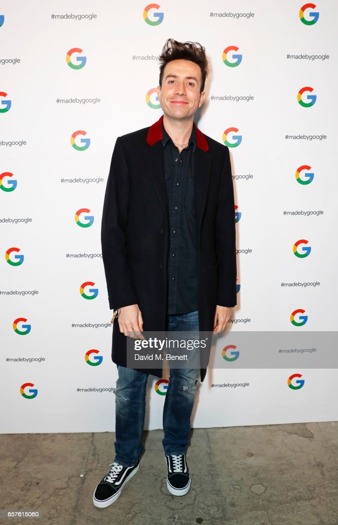 Nick Grimshaw attends Google's Pixel 2 phone launch at The Old Selfridges Hotel on October 4, 2017 in London, England.