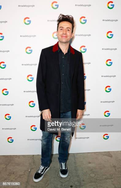 Nick Grimshaw attends Google's Pixel 2 phone launch at The Old Selfridges Hotel on October 4 2017 in London England