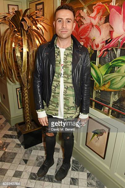 Nick Grimshaw attends the adidas Originals by Rita Ora dinner at The Ivy Chelsea Garden on November 23 2016 in London England