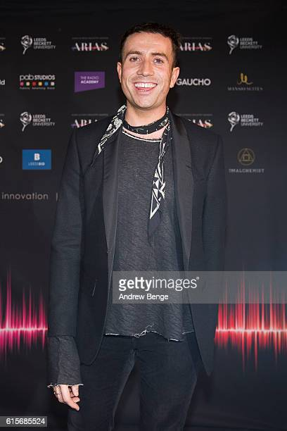 Nick Grimshaw attends the Audio Radio Industry Awards at First Direct Arena Leeds on October 19 2016 in Leeds England
