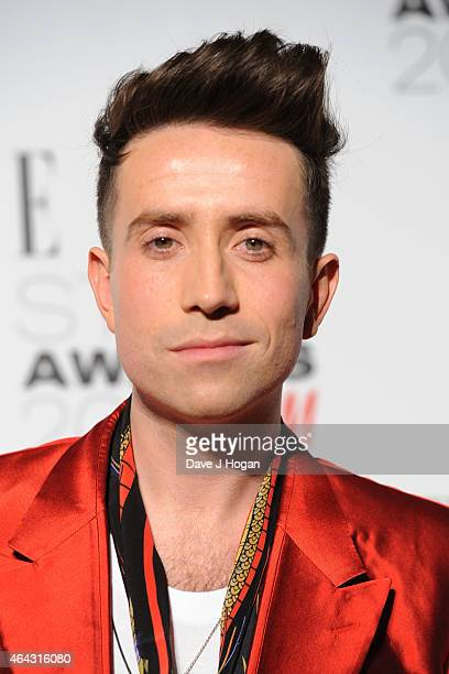 Nick Grimshaw attends the Elle Style Awards 2015 at Sky Garden @ The Walkie Talkie Tower on February 24 2015 in London England